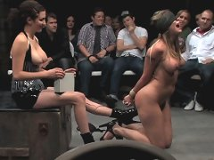 Delilah Strong humiliated in front of live audience