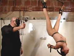 Flexible beauty is tied, fucked and tortured with water