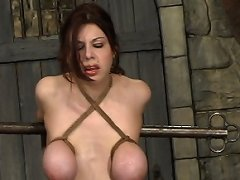 Prepare to be aroused by Mallory\'s tits, mouth & juicy pussy