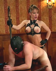 Slaveboy punished and tormented